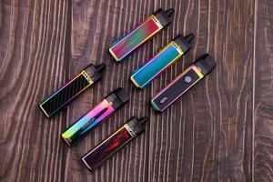 Image 5 - جديد لون أصلي VOOPOO VINCI Mod Pod Kit 5.5 مللي Vape Pod & 1500 مللي أمبير بطارية صالح 0.3ohm PnP لفائف سيجارة إلكترونية