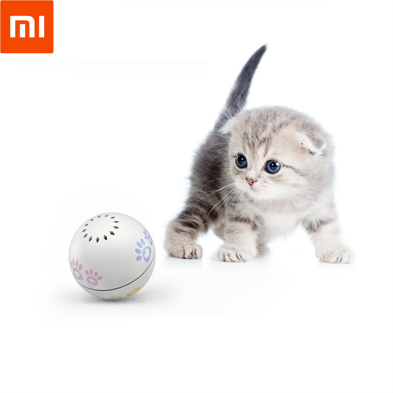 Xiaomi Youpin PAINI compagnon Intelligent chat balle chat jouet balle chat attention balle point rouge taquine chat, geste télécommandé 57