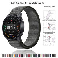 Cinturino in Nylon 20mm 22mm per Xiaomi Mi cinturino Color cinturino da polso cinturino sportivo per Xiaomi hay485 ls02 cinturino