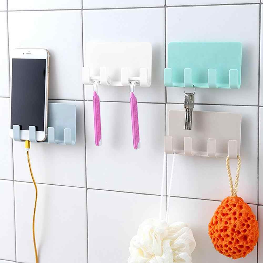 Portable Phone Wall Charger Hook Holder Hanging Stand Bracket For Xiaomi For Huawei For iPhone Support Charge Hanger Rack Shelf