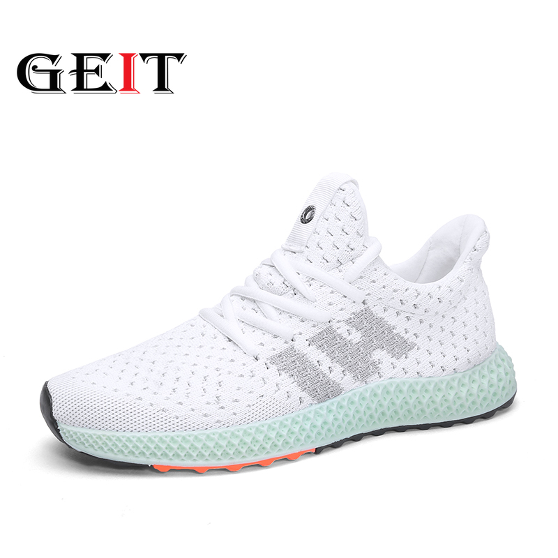 Men Sneakers Breathable Casual Shoes No-slip Comfortable Running Shoes Fashion Male Air Mesh Tennis Shoes Summer Sports Shoes