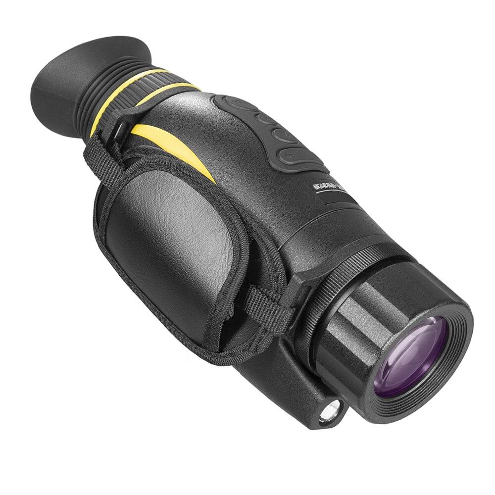 Dispositif de Vision nocturne numérique infrarouge 4X35 enregistrement d'image et vidéo télescope infrarouge monoculaire multifonction jour et nuit pour la chasse