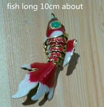 10 шт см похожая на настоящую качели Эмаль Золотая рыбка расходных