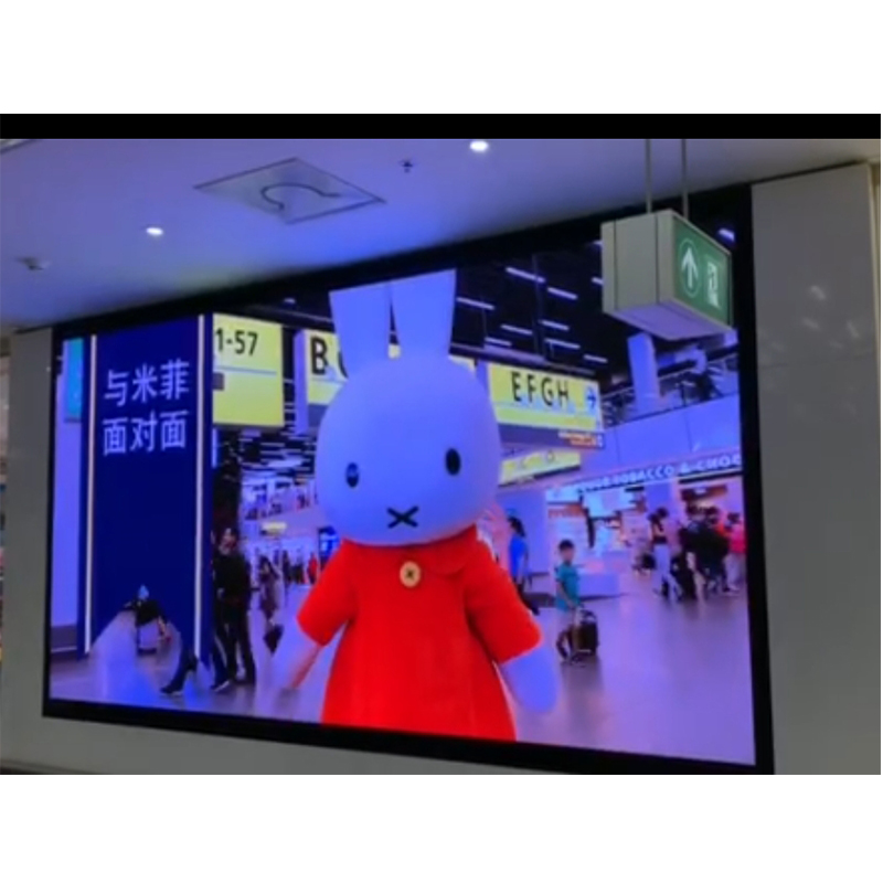 Hd Led Advertising Screen P2.5 Indoor Video Display Function RGB LED TV Panel