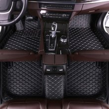 Custom Car Floor Mats for Cadillac XT4 2018  Auto Accessories Black Red Beige Coffee Car Accessories Mats Eco Leather Xiaobaishu цены онлайн