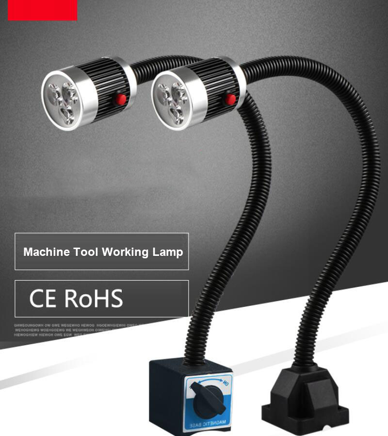 Machine Light,Led Lamp Industrial, Industrial Lamp, Magnetic Force  CNC Working Lamp, Freeshipping