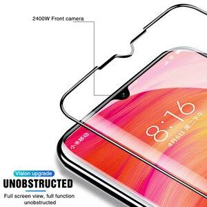 Image 3 - Gehärtetem Glas Für Xiaomi Redmi hinweis 5 6 7 Pro Screen Protector Redmi 5A 6A 6 Pro 5 Plus Glas schutz Glas Auf Redmi hinweis 7