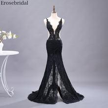 Женское прозрачное вечернее платье Русалка erosebridal длинное