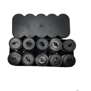Image 4 - 120 Film Plastic Storage Box Container Case 10 Rolls Film Camera Kit Darkroom Equipment