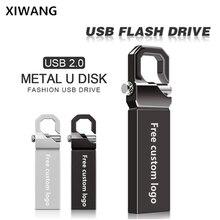 Usb Flash Drive Metal Pendrive 128gb High Speed USB stick 2.0 64gb  pen drive 32gb 16gb 8gb 4gb flash memory Free custom logo цена и фото