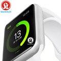 Bluetooth чехол для смарт часов для apple iphone xiaomi android phone smartwatch pk apple watch GT88 DZ09 (красная кнопка)