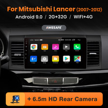 Awesafe PX9 untuk Mitsubishi Lancer 9 10 2008-2015 Mobil Radio Multimedia Video Player GPS Tidak Ada 2 DIN Android 9.0 2GB + 32GB(China)