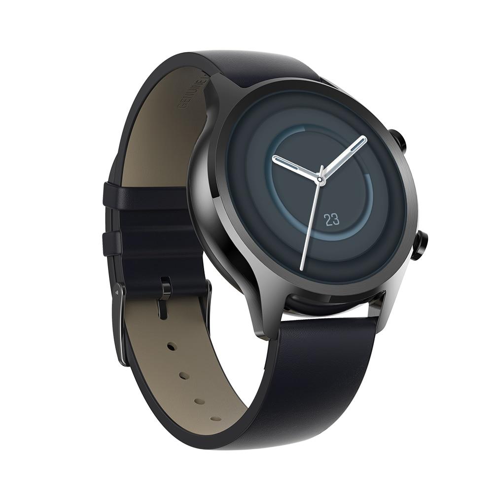 TicWatch C2 Plus ulepszony 1GB Ram Wear OS sport Smartwatch GPS Fitness śledzenie IP68 wodoodporna NFC Google Pay wersja globalna