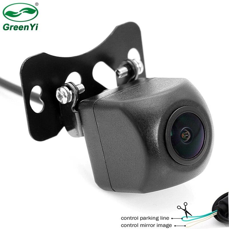 CCD Ночное видение Диагональ 170 градусов рыбий глаз автомобиля Парковочные системы HD Автомобильная Передняя Автомобильная камера заднего ви...