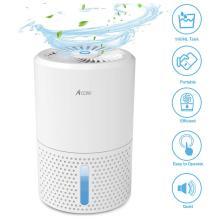Acare Dehumidifier Moisture Absorbers Air Dryer with 900ml Water Tank Quiet Air Dehumidifier for Home Basement Bathroom Wardrobe