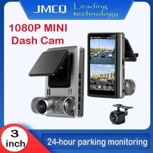 Jmcq Автомобильный видеорегистратор 3 дюйма мини сенсорный экран