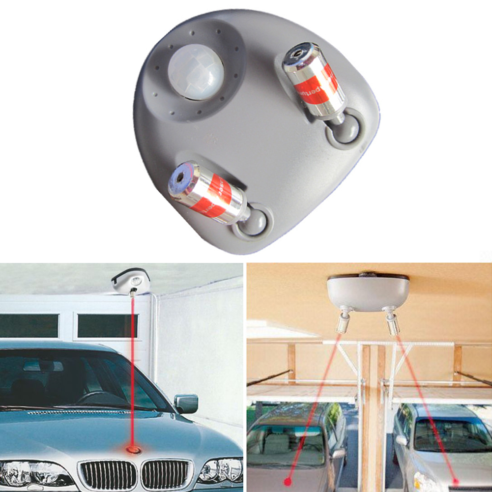 Dual Laser Parking Sensor Guiding Parking System Garage Reverse Sensor Carport Car Park Guide Double End Aid Garage Parking
