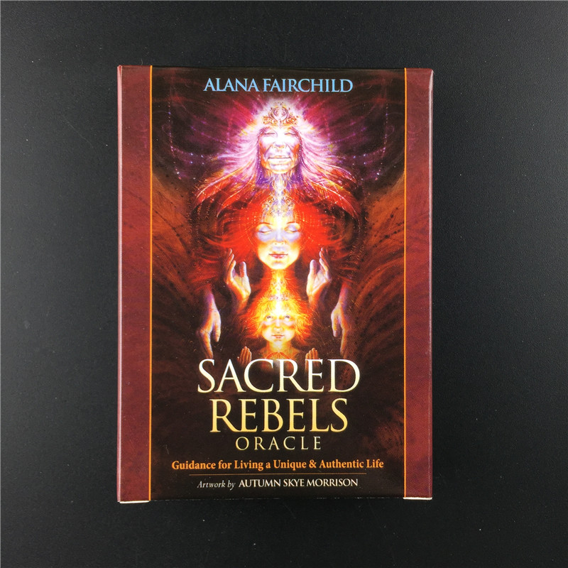 NEW EDITION FEATURES Sacred Rebels Oracles Guidance For Living A Unique And Authentic Life Cards Board Game Divination GIFT