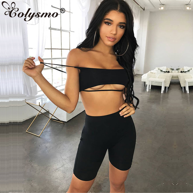 Colysmo 2 Layers Sexy Jumpsuit Summer Rompers Womens Shorts Body Feminino Playsuit Bodysuit Plus Size jumpsuits
