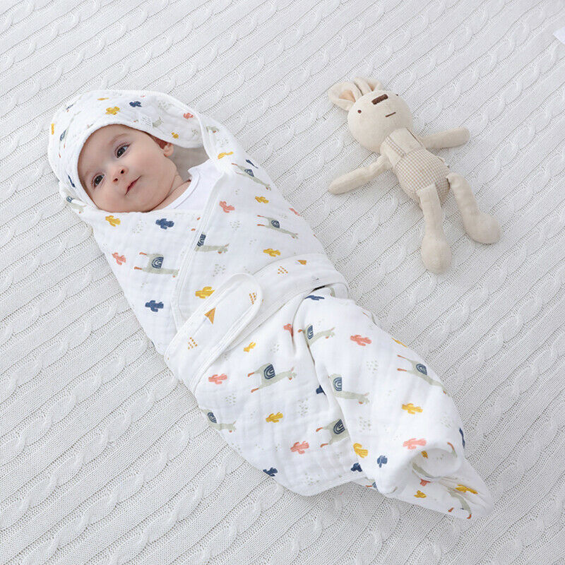 2020 New Arrival Babies Cartoon Print Sleeping Bags Newborn Wrap Soft Pure Cotton Swaddle Blanket Baby Boys Girls Sleeping Bag