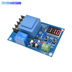 Image 4 - XH M602 Digital Control Battery Lithium Battery Charging Control Module Battery Charge Control Switch Protection Board 3.7 120V