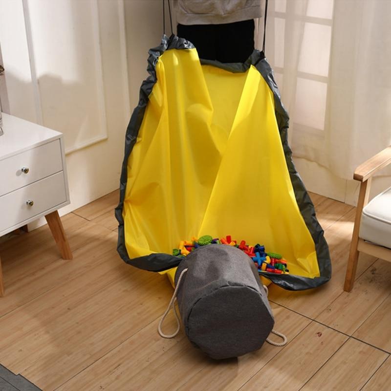 Bolsa prática-brinquedos de armazenamento play-esteira portátil crianças