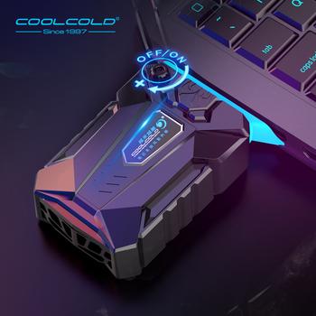 COOLCOLD próżni przenośny Laptop Cooler USB chłodnica zewnętrzna ekstrakcji wentylator Notebook dla 15 15 6 17 Cal laptopa tanie i dobre opinie Chłodzony powietrzem All Size Laptop Pojedyncze fanów Z tworzywa sztucznego