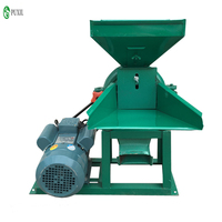 Electric whole grain crusher corn feed rice grain ultrafine herbs powder food mill grinding machine with motorcycle