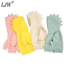 Clothing Sweater Hooded Girls Baby Spring Dinosaur Fleece Cosplay Autumn Boys Cute New