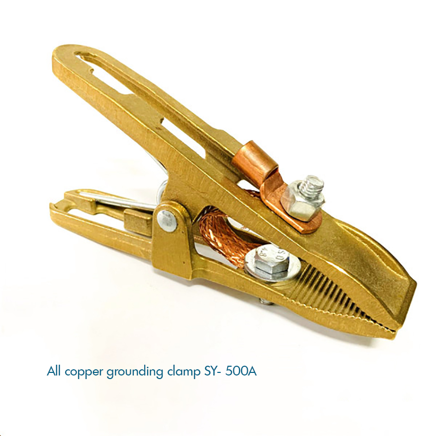 300Amp Arc Welding Earth Ground Clamp Copper Welding Professional Manual Welder