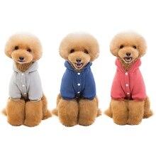 Худи для домашних собак, пальто, теплое, классическое, с капюшоном, флисовое пальто, одежда, Толстовка для собак, куртка, осенне-зимний костюм с карманом