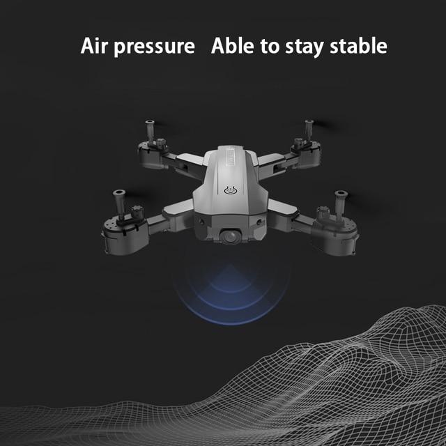 H9 drones com câmera hd 4k 1080p quadcopter fpv fotografia helicóptero wi fi controle remoto brinquedos dobráveis para meninos adolescentes rc dron 6