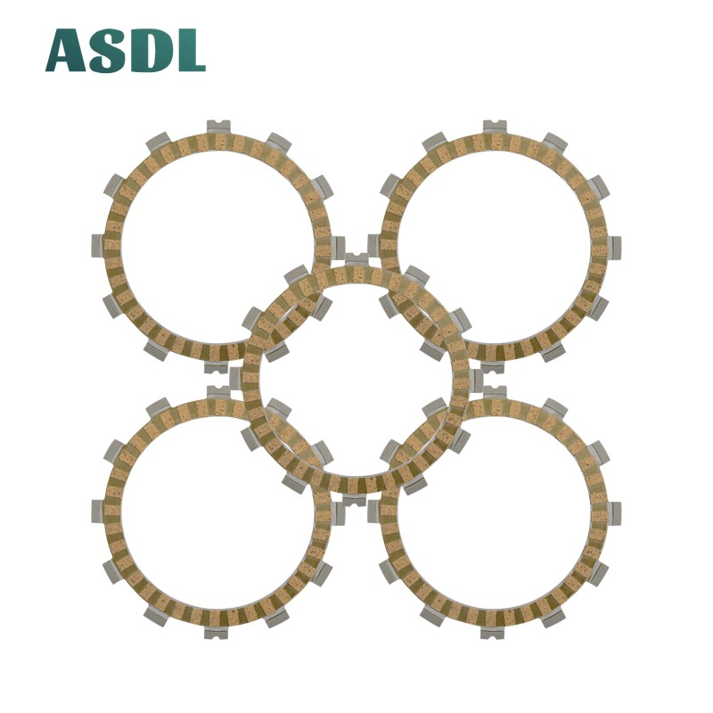Motorcycle Engine Parts Clutch Friction Plates Kit For Hyosung GA 125 Cruise GF 125 GT 125 GV 125 RT 125 XRX 125 XRX 125 SM #d