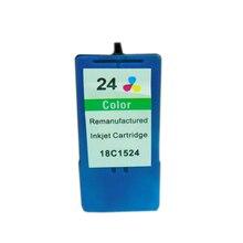 vilaxh 1pcs For Lexmark 24 Color Ink Cartridge for X3530 X3550 X4550 X4530 Z1420 lexmark ink cartridge