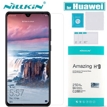 Huawei P30 P20 Pro Mate 20 X Lite Glass Screen Protector Nillkin 9H Safety Glass for Huawei Honor 8X 10 20 Pro Tempered Glass