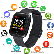 LUIK 2019 Smart Sport Horloge IP68 Waterdichte Armband Fitness Tracker Hartslag Bloeddrukmeter Mode Armband Smart Horloge(China)
