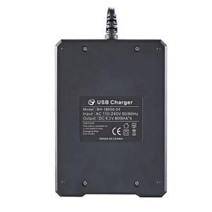Image 5 - 18650 Li Ion Battery 4.2V สี่ช่องสายชาร์จเต็มจากปิดโรงงานไฟส่องสวิตช์แบตเตอรี่ Charger