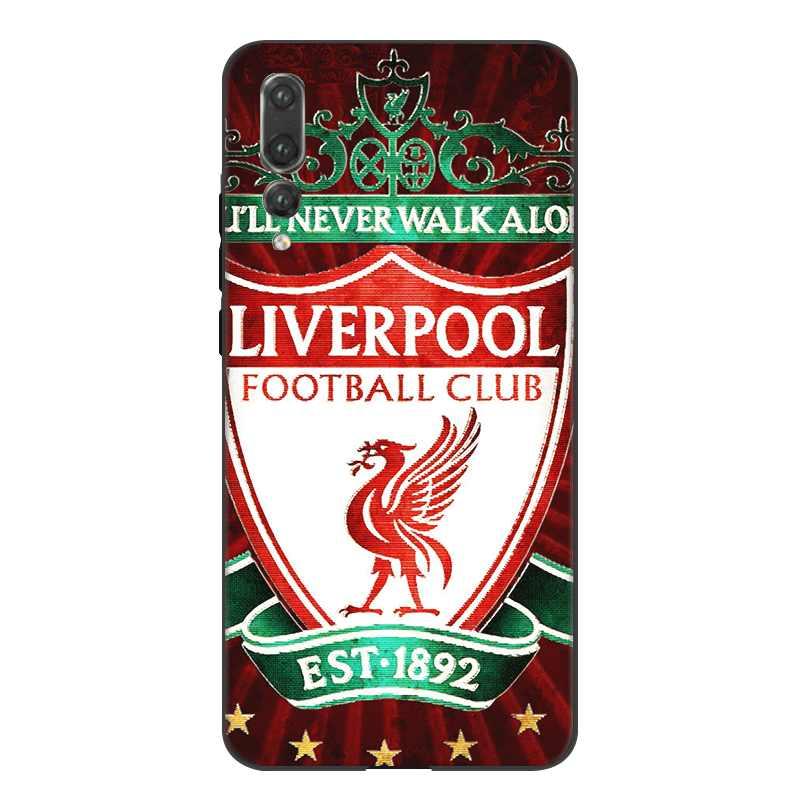 Чехол для мобильного телефона Gerleek из ТПУ для Honor 7A Pro 7C 8 8X 8C 9 Note 10 Lite, чехол для футбольного клуба Ливерпуль