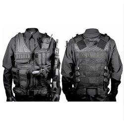 เสื้อผ้าล่าสัตว์ SWAT เสื้อกั๊กยุทธวิธี SWAT แจ็คเก็ตทรวงอก RIG กระเป๋า SWAT Army CS การล่าสัตว์ Vest Camping อุปกร...
