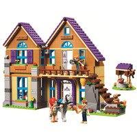 New 2019 Friends Mia's House Building Blocks Kit Bricks Classic Girl Model Kids Toys For Children Gift