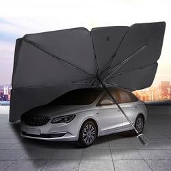 Car Sun Shade Cover Auto Sunshade Covers Interior Winscreen Front Windshield Sun UV Protector Windscreen Parasol Car Sunshade
