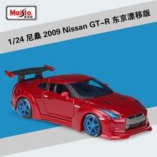 цена на Maisto 1:24 Nissan GTR Tokyo Drift Modified Simulation Alloy Car Model collection gift