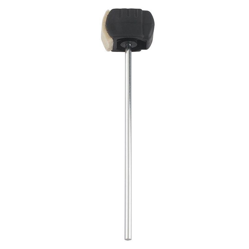 Bass Drum Pedal Beater Wool Felt Stainless Steel Handle Percussion Instrument Accessories Parts