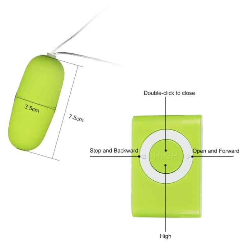 Nuova Velocità Dildo Vibratore Della Pallottola di Vibrazione di Telecomando Dell'uovo Clitoride Stimolatore Potente Giocattoli Del Sesso Per Le Donne G-Spot Massager