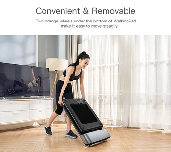 Home Use Foldable Walking Pad A1 Electric Treadmill Body Slimming Jogging Fitness Equipment with CE Approval