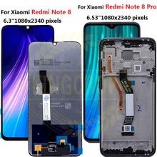ل شاومي Redmi نوت 8 برو LCD نوت 8 برو M1906G7I عرض شاشة تعمل باللمس استبدال ل Redmi نوت 8 LCD M1908C3JH محول الأرقام
