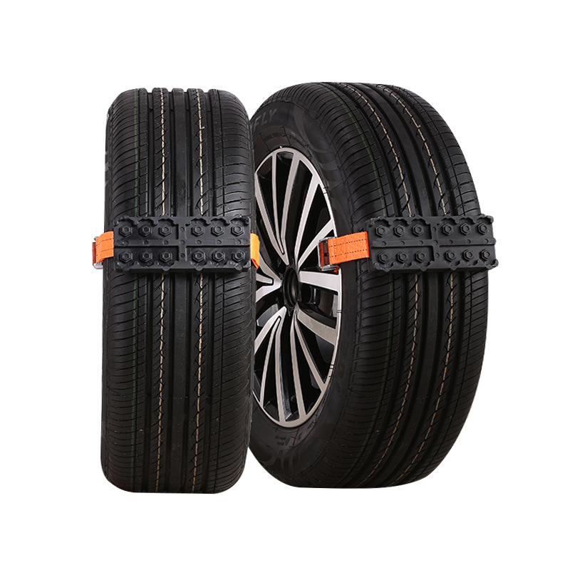 2PCS Tire Chain Strap Snow Chain Emergency Anti-Skid Automobile Belt For Outdoor Car SUV Universal Anti Skid Snow Chains Nylon