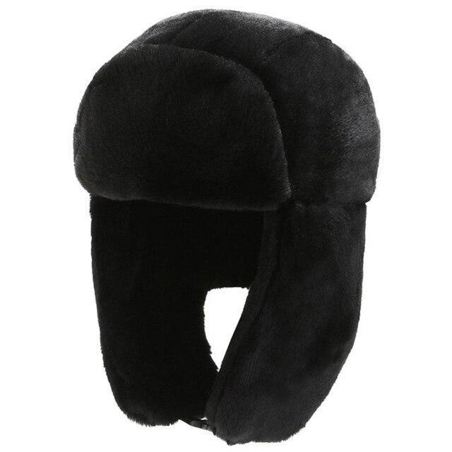 Фото ht3320 шапка бомбер для мужчин и женщин мужская зимняя с маской цена