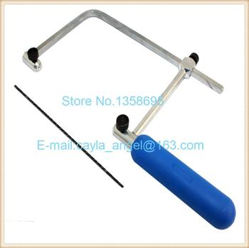 ASB 400 Jewelry Saw frame  Jewelry Adjustable Saw Bow  craft jewelry tool  engraving tool Hand Tools Saw Bow jewelry saw frame adjustable jeweler making diy tools blade handmade crafts arc jewelry tool