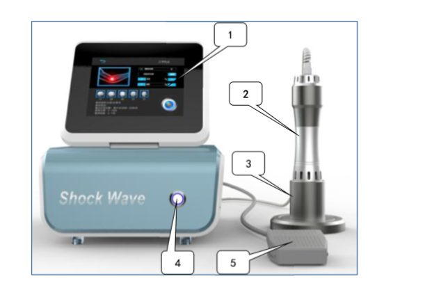2019 New Shockwave Therapy System 3D Shockwave Machine Price For Pain Treatment Slimming